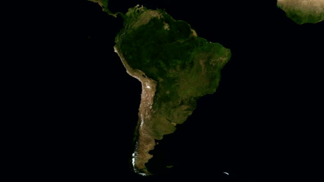 Seasons of South America. Full HD and loopable