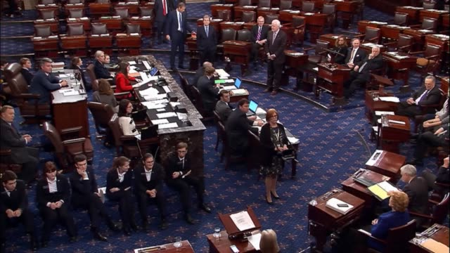 Seated at their desks as the Senate had during the Christmas eve 2009 vote on passage of the Affordable Care Act Democrats in the body one by one...