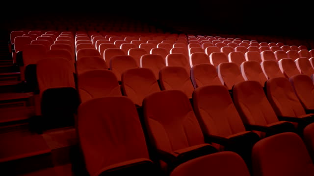 seats in theater performance center - theatrical performance stock videos & royalty-free footage