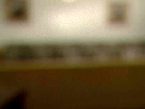 seats line an empty jurybox - jury box stock videos & royalty-free footage