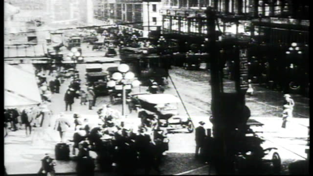 1917 - seattle city streets - 1910 stock videos & royalty-free footage