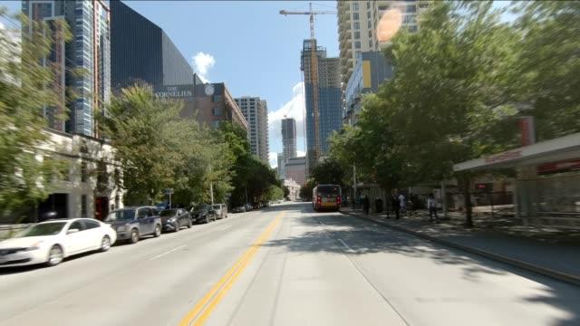vidéos et rushes de seattle city xvi synchronisé série front view plaque de conduite - seattle
