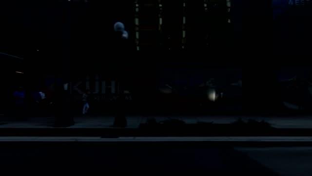 seattle city xvii synkroniserade serien höger visa körning process skylt - trådbuss bildbanksvideor och videomaterial från bakom kulisserna