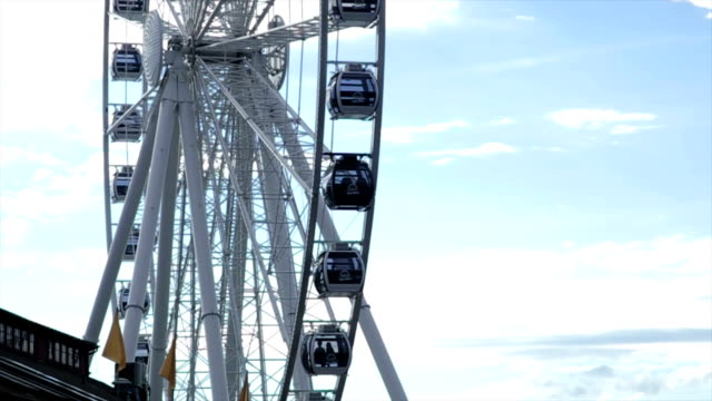 seattle riesenrad - seattle stock-videos und b-roll-filmmaterial