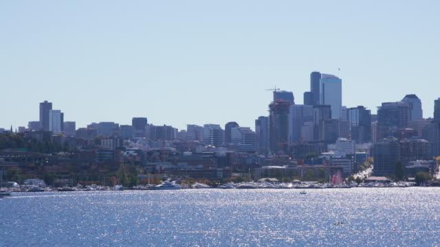 Seattle skyline, pan right