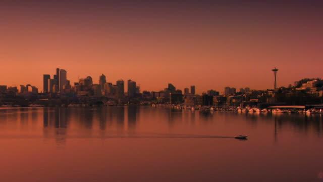 Seattle Skyline Sunset