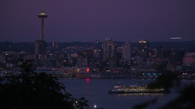 seattle skyline - north pacific stock videos & royalty-free footage