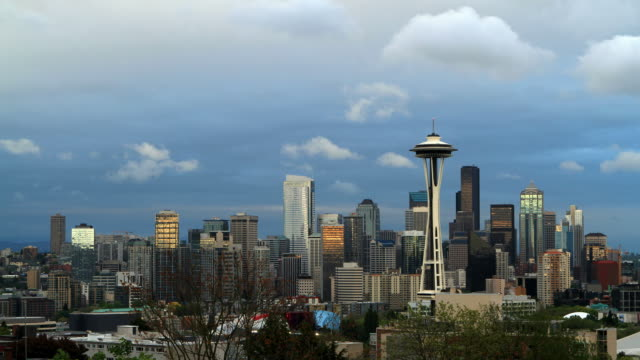 seattle - space needle stock videos & royalty-free footage