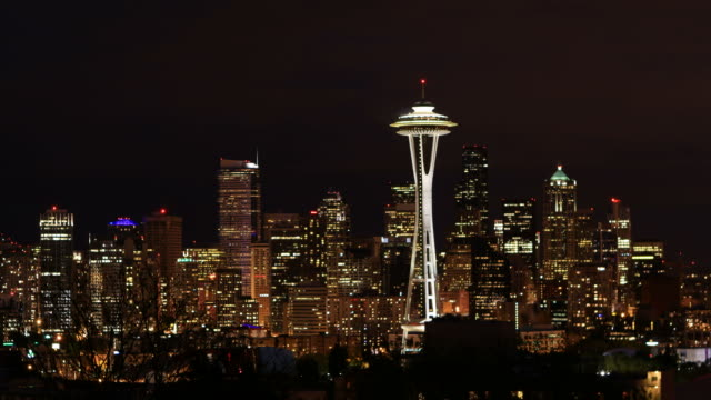 seattle, wa - space needle stock videos & royalty-free footage