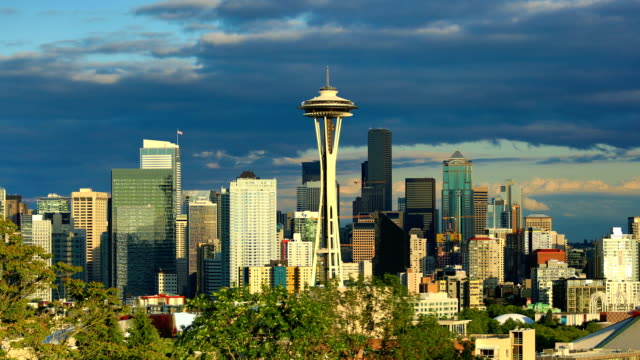 seattle, wa - seattle stock-videos und b-roll-filmmaterial