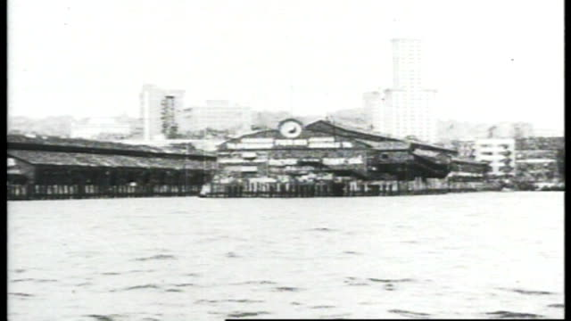 1917 - seattle waterfront - seattle stock videos & royalty-free footage
