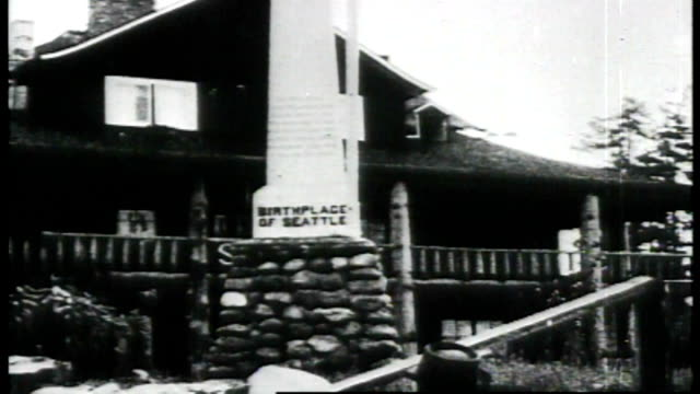 1917 seattle's birthplace - seattle stock videos & royalty-free footage