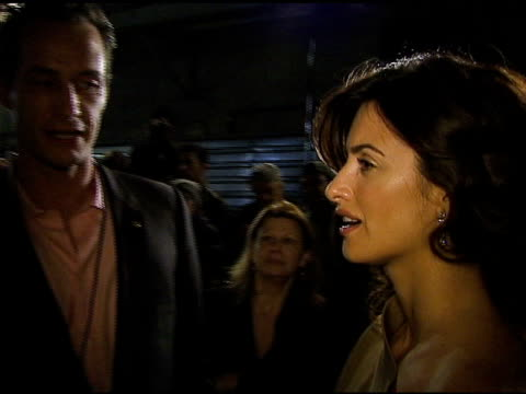 sebastian copeland and penelope cruz at the 3rd annual preoscar party hosted by global green usa on february 21 2007 - oscar party stock videos & royalty-free footage