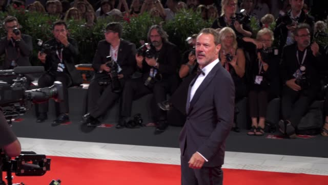 sebastian koch arrives on the red carpet of 'werk ohne autor' [never look away] during the 75th venice film festival on september 4 2018 in venice... - film festival stock videos & royalty-free footage