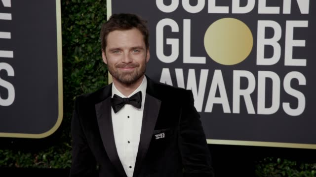 Sebastian Stan at the 75th Annual Golden Globe Awards at The Beverly Hilton Hotel on January 07 2018 in Beverly Hills California