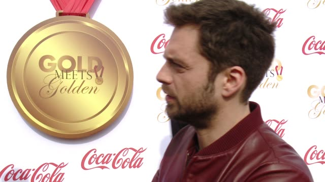 INTERVIEW Sebastian Stan on why it was important for him to support Gold Meets Golden what athletes he is looking forward to meeting how they inspire...