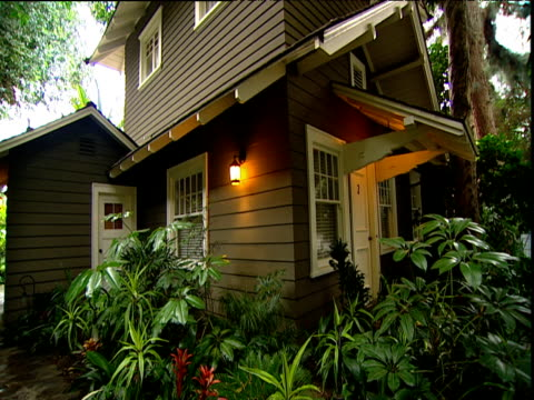 Secluded bungalow surrounded by plants and trees Hotel Chateau Marmont Sunset Strip Los Angeles