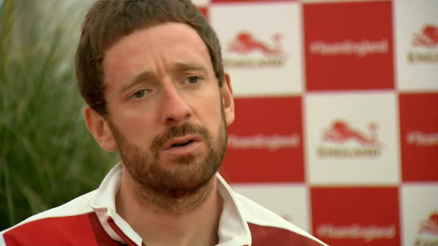 second day of competition sir bradley wiggins interview sot - 2日目点の映像素材/bロール
