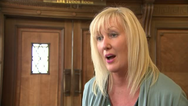 second fracking site bid rejected by councillors in lancashire; int claire smith interview sot steve pye interview sot ext various shots... - protesta anti fracking video stock e b–roll