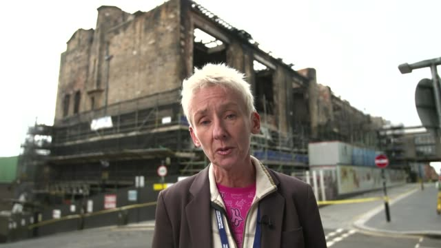 Muriel Gray interview SCOTLAND Glasgow EXT Muriel Gray 2WAY interview SOT