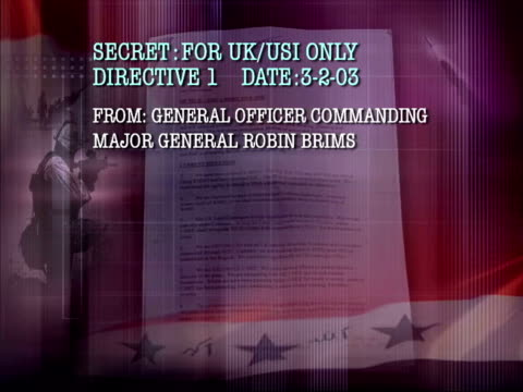 secret directive from general officer commanding major robin brims - robin day stock videos & royalty-free footage