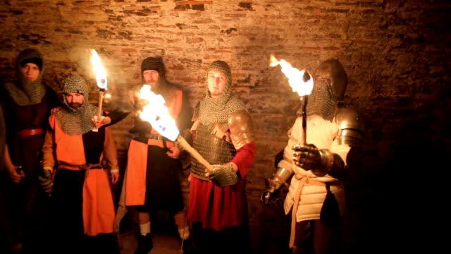 secret knights templar tunnels - army helmet stock videos & royalty-free footage