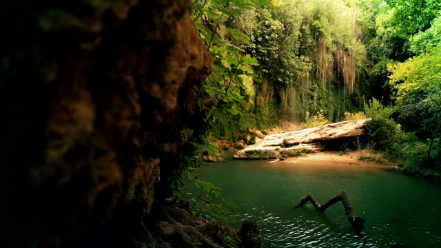 secret lake in nature - sustainable tourism stock videos & royalty-free footage