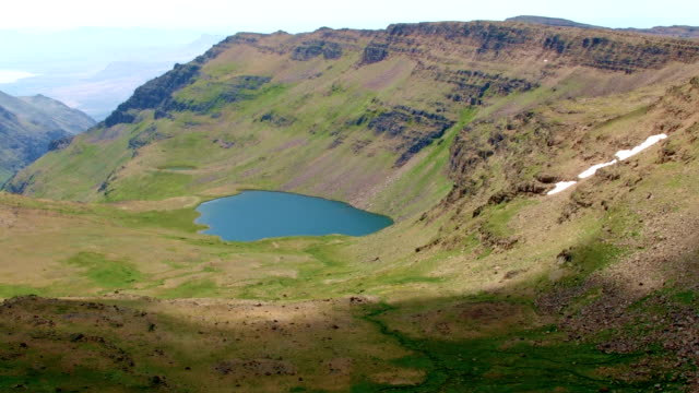 Secret mountain lake Wildhorse Lake Summit Steens Mountain Near Malhuer Wildlife Refuge 26