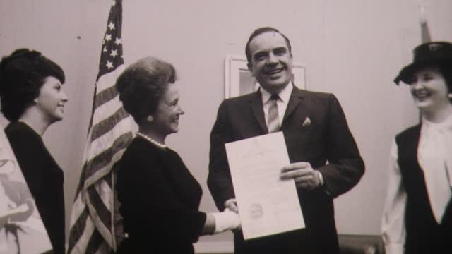 secretaries week april 1960 secretary appreciation honor - secretary stock videos & royalty-free footage
