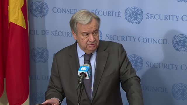 secretary general antonio guterres on wednesday called for more humanitarian access in conflict-hit syria to reach more people in need of assistance.... - discovery stock videos & royalty-free footage