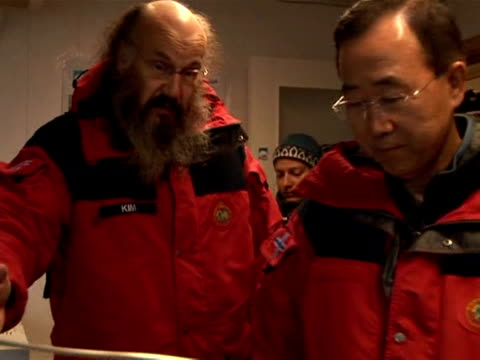 N Secretary General Ban Kimoon visited the Arctic on Tuesday to see the effects of global warming firsthand ahead of key international climate talks...