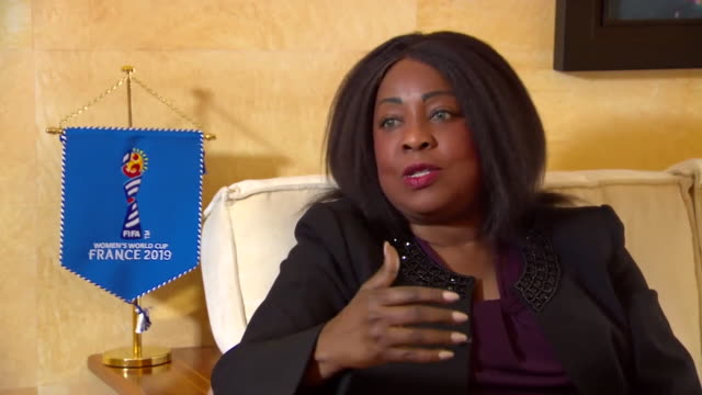Secretary General Fatma Samoura saying she wants there to be a point where there is no distinction between women's football and men's football and it...