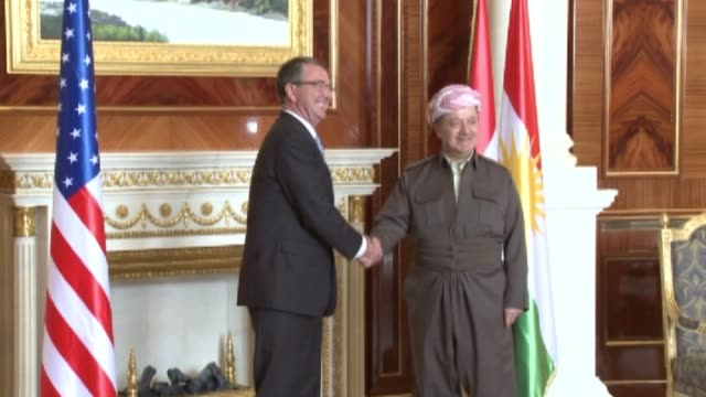 US Secretary of Defence Ashton Carter arrived in Iraq's autonomous region of Kurdistan on Sunday to review the ongoing military offensive to retake...