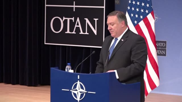 US Secretary of State Mike Pompeo accuses Germany of not doing enough to meet its NATO defence spending commitments saying it is critical all allies...