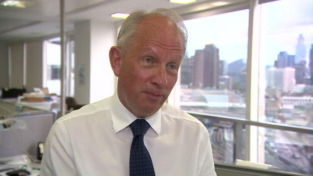 """secretary to the lambeth council sexual abuse inquiry, john o'brien talking about the """"culture of cover-up"""" - greater london stock videos & royalty-free footage"""