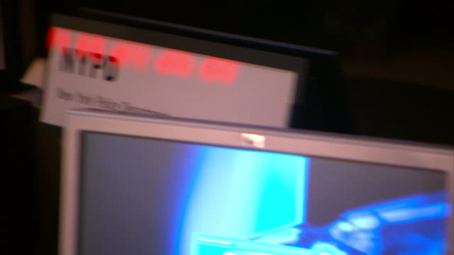 security and surveillance screens monitor activity in new york city. - control room stock videos & royalty-free footage