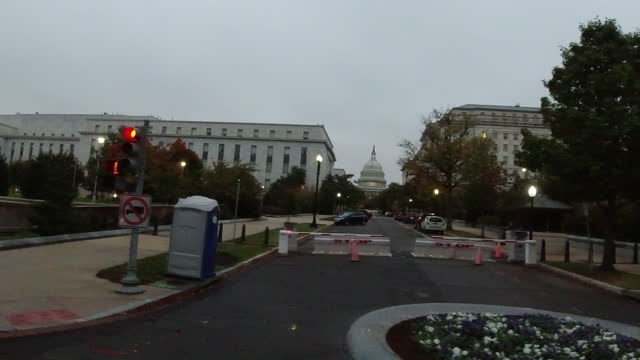 security barrier in washington dc - senate stock videos & royalty-free footage