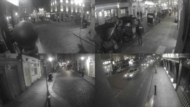 cctv security camera footage - moving image stock videos & royalty-free footage