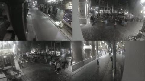cctv säkerhet kamera bilder - övervakningskamera bildbanksvideor och videomaterial från bakom kulisserna
