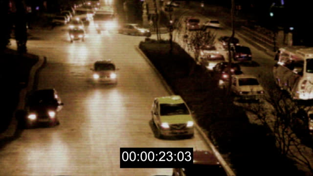 security camera on traffic - surveillance stock videos and b-roll footage