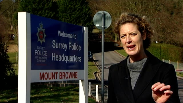 Security firms to bid for contracts to take over some police work Surrey Simon Reed interview SOT Completely against the ethos of British policing