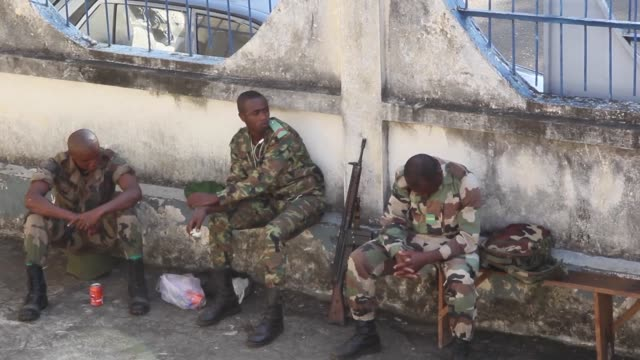 Security forces are deployed on the island of Ajouan in the Comoros for the constitutional referendum intended to allow the president and former...