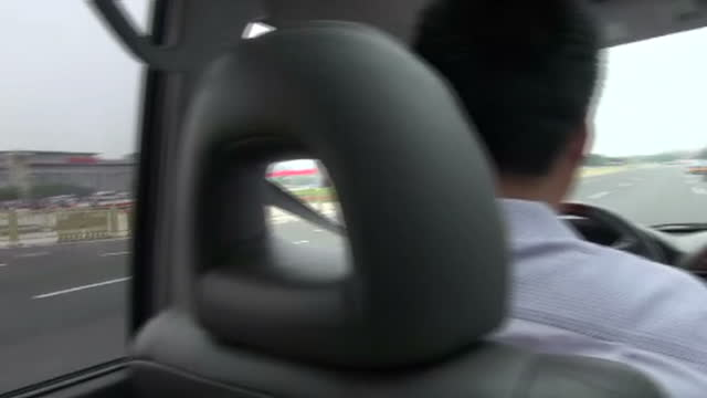 security has been stepped up in beijing on the 25th anniversary of the tiananmen square massacrechina is preventing anyone from commemorating the... - platz des himmlischen friedens stock-videos und b-roll-filmmaterial