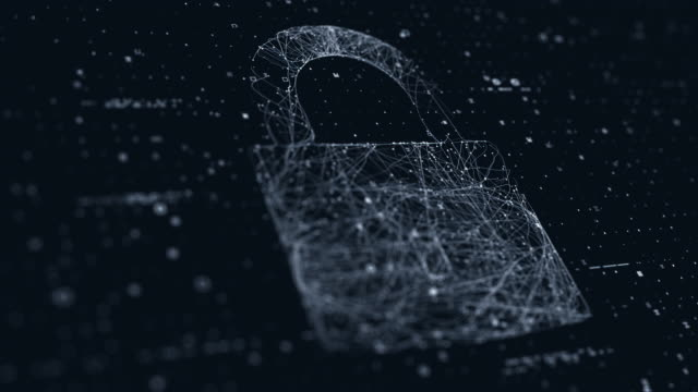 セキュリティ ロック表示 - 中央演算処理装置点の映像素材/bロール