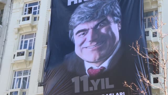Security measures tightened before the commemoration ceremony on the 11th death anniversary of Hrant Dink former editorinchief of the bilingual...