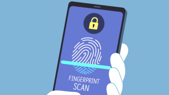 security program of fingerprint recognition - log on stock videos & royalty-free footage