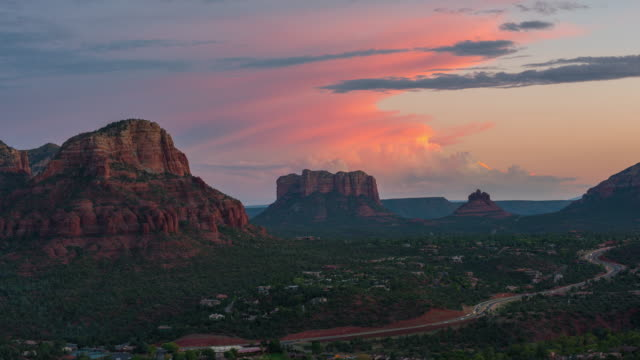 sedona  arizona - sedona stock videos & royalty-free footage