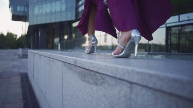 seductive walk - fashionable stock videos & royalty-free footage