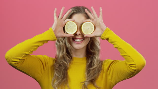 see what i see? lot's of vitamin c! - vitamin a nutrient stock videos & royalty-free footage