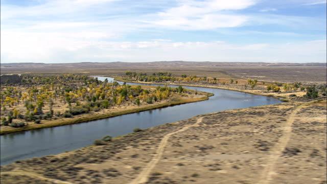 Seedskadee National Wildlife Refuge  - Aerial View - Wyoming, Sweetwater County, United States